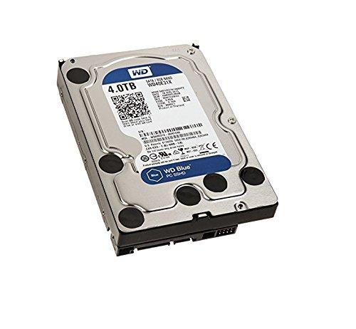 WD Blue - Disco Duro só lido Interno de 4 TB (SATA a 6 GB/s, 64 MB de caché , 3.5') 64 MB de caché 3.5) Western Digital WD40E31X