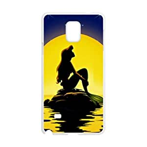 Beautiful sea yellow moon Mermaid Cell Phone Case for Samsung Galaxy Note4