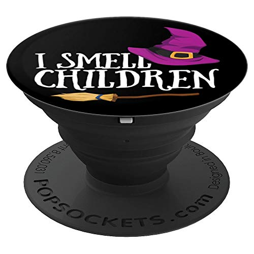I Smell Children Hocus Pocus Teacher Parent Halloween - PopSockets Grip and Stand for Phones and Tablets ()