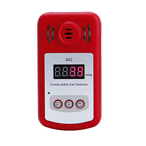 Gas Leakage - Portable Mini Combustible Gas Detector Leak Tester With Sound And Light Alarm - Pipe Water Plumbing Camera Engine Light Brush Guardian Normally Natural Et120 Relay Tools Contioni ()
