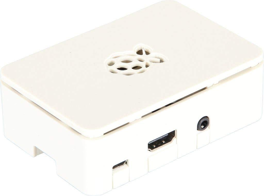 Raspberry Pi Caja Pi 3B/B+ Blanco: Amazon.es: Electrónica