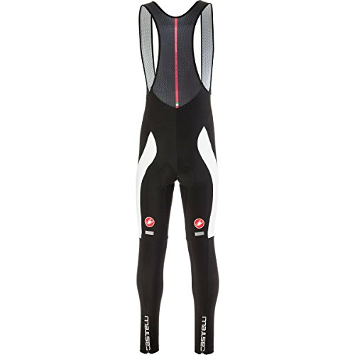 Castelli Velocissimo 3 Bib Tight - Men's Black/White, M