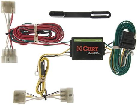 CURT トレーラーヒッチ 配線& 1 7/8インチボールマウント 2インチのドロップ付き 98-02 Kia Sportage用