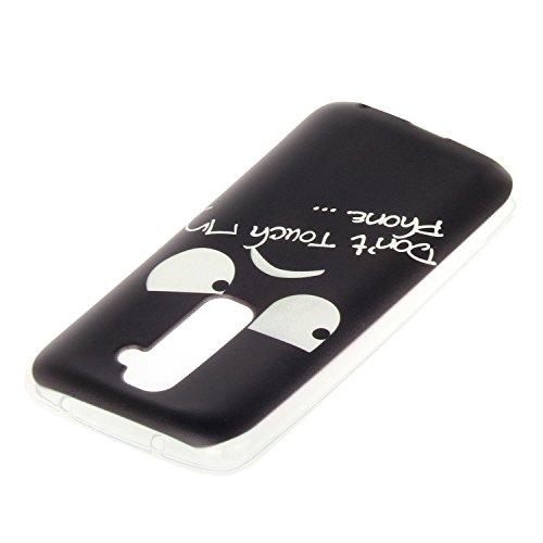 Para LG G2 (5,2 pulgadas) Cáscara ZeWoo® Carcasa y Funda de Silicona - YG013 / bicicleta de limón YG004