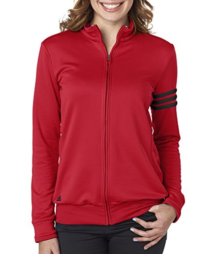 Buy adidas womens jacket red