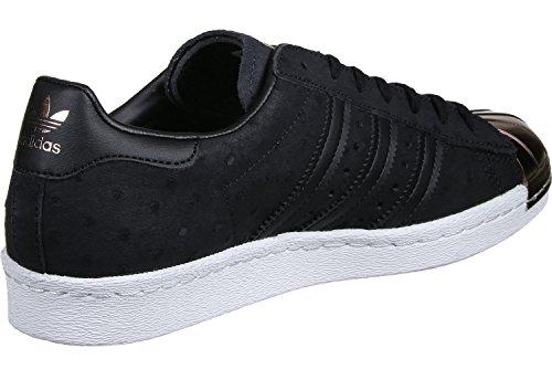 Noir Adidas Superstar Noir W 80s Or Toe S76712 Metal Basket rw0x6PqAr