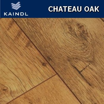 Kaindl Chateau Oak Laminate Flooring 8mm V Groove 24m2 Wood Floor