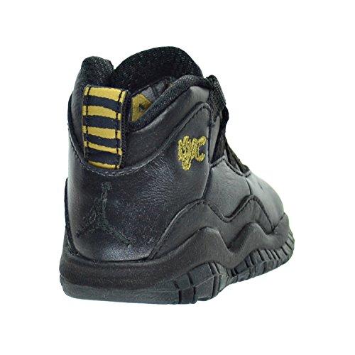 the best attitude b852c 6e3a2 Jordan 10 Retro BT Toddler's Shoes Black/Dark Grey/Metallic ...