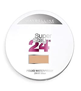 Maybelline Superstay 24H, Polvo Compacto Matificantes, Tono: nº48 Sun Beige