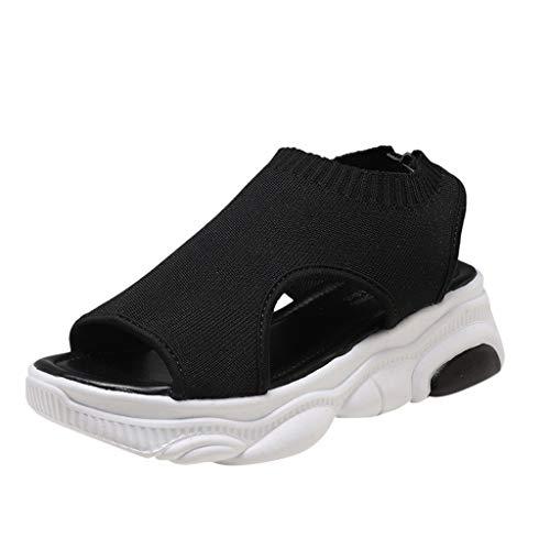 Alimao T-Strap Buckle Flats Sandals Ladies Sandals Size 8 Retro Platform Sandals for Women Womens Wedges Sandals Air Lift Bar Stool
