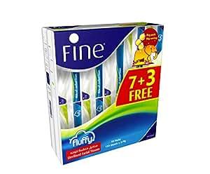 Fine Fluffy Sterilized Facial Tissues 150X2 Ply / 10 Nylon Pack