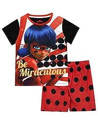 Miraculous Girls' Ladybug Pajamas
