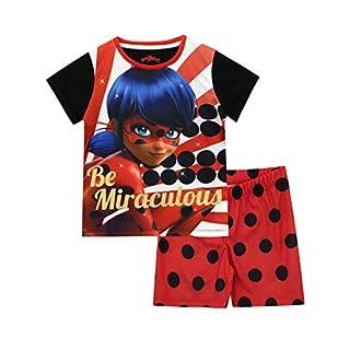 Miraculous Ladybug Girls' Lady Bug Pajamas Size 4 Red