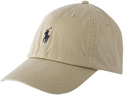 Polo Ralph Lauren Mens Embroidered Logo Ball Cap