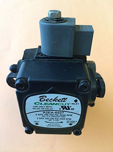 (A2EA-6527 PF10322U 21844U NEW! Beckett Oil Burner Pump NOT Rebuilt Junk+ FREE E-BOOK (FREEZING))