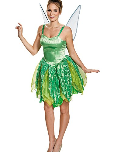 Disguise Costumes Tinker Bell Prestige Costume (Adult), Large (12-14 -