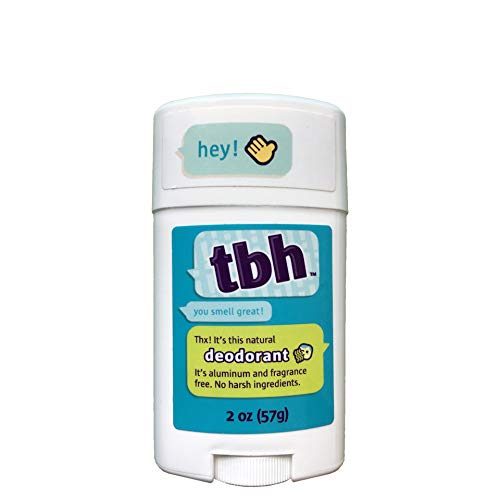 TBH Kids Deodorant - Made Without Aluminum & Parabens - Works For All Skin Types