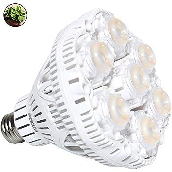 Amazon Com Sansi 36w Led Grow Light Bulb Daylight Plant