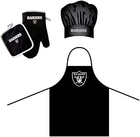 Oakland Raiders Barbeque Holder Deluxe