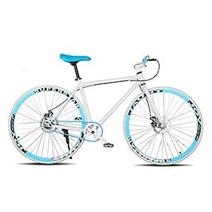 415mBNjWfwL. SS300 CPY-EX Mountain Bike, da 26 Pollici, Doppio Freno a Disco, 30-Blade, Bici per Uomini e Donne, Bici Road (Inflatable Tyre…