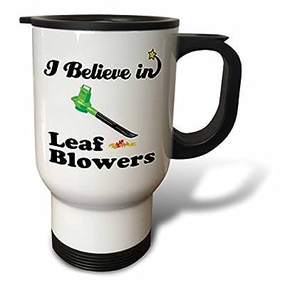 Dooni Designs I Believe In Designs - I Believe In Leaf Blowers - Travel Mug