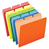Wholesale CASE of 10 - Esselte Colored Ready-Tab 3-Position File Folders-Ready-Tab File Folders,3 Tab Position,Letter,50/BX,Assorted