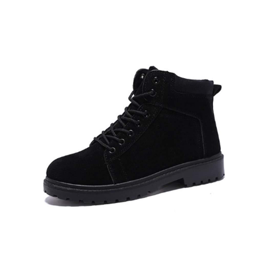 FMWLST Stiefel Pu-Stiefel Der Männer Beschuht Winter-Knöchelaufladungsschuhspitzeschuh-Männer Die Schuhe Der Qualitätsmänner