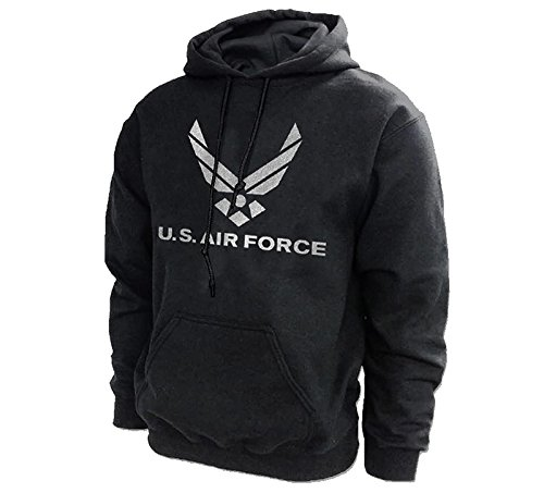 US Air Force USAF Reflective Design Hooded Sweatshirt - Officially Licensed by the (Air Force Hooded Sweatshirt)