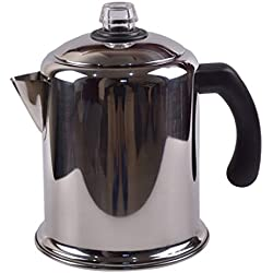 304 Stainless Steel Coffee pot American hot Water Bottle With Filter Teapot 59.8 Ounces Home