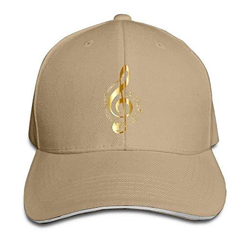 Sandwich Baseball Caps Unisex Adjustable Trucker Style Hat Music Note 8 -