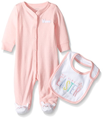 Carters Easter 2 piece Cotton Snap up