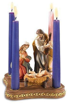 Nativity Advent Wreath