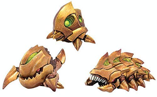 (Monsterpocalypse: Planet Eaters Unit – Chompers, Destructomite & Explodohawk (Resin))
