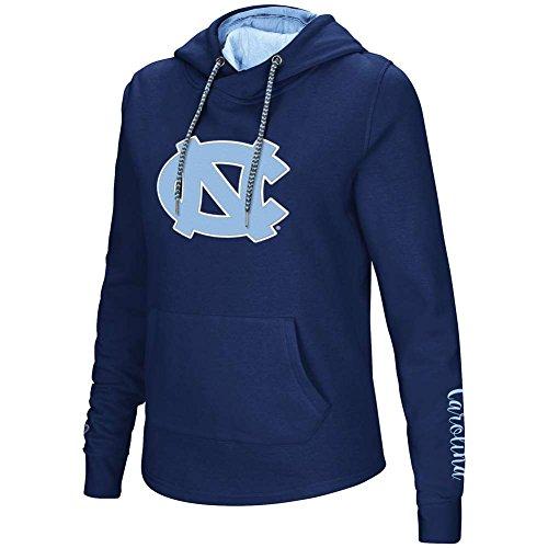 North Carolina Tar Heels Women's Inward Crossover Pullover Hooded Sweatshirt Large