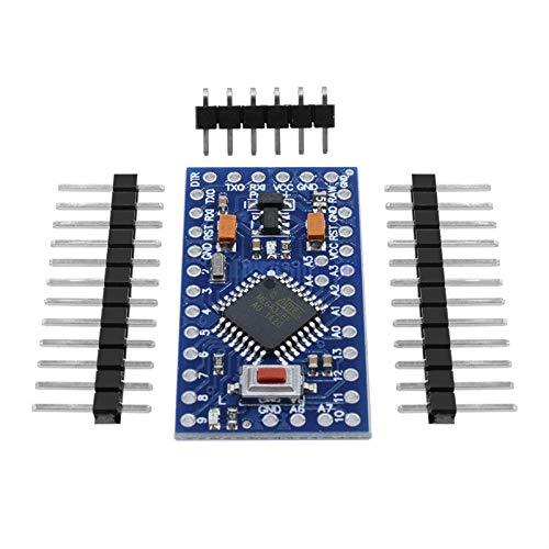 DC 5V-12V 16MHz Pro Mini Atmega328 Microcontroller Mini 328 ATMEGA328P 14Pins Board Module for Arduino Replace CH340 Nano 3.0