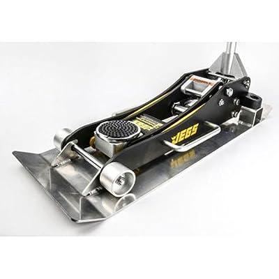 JEGS Performance Products 80006K Aluminum Jack and Skid Plate Kit; Floor Ja