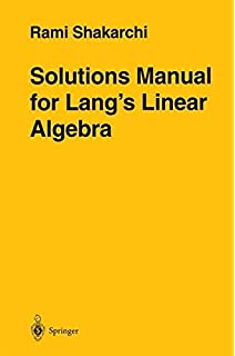 Introduction to linear algebra undergraduate texts in mathematics solutions manual for langs linear algebra fandeluxe Choice Image