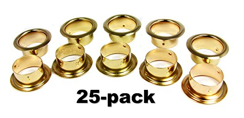 25pcs. Brass Candle Cup Grommets - 7/8