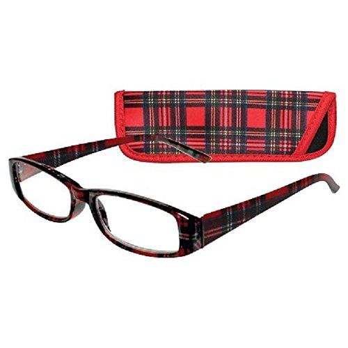 ICU Wink Red Half Eye Reading Glasses …