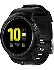 Spigen Rugged Armor Pro Strap with Case for Galaxy Watch Active 2 44mm Strap with Case for Samsung Galaxy Watch Active 2 - Black