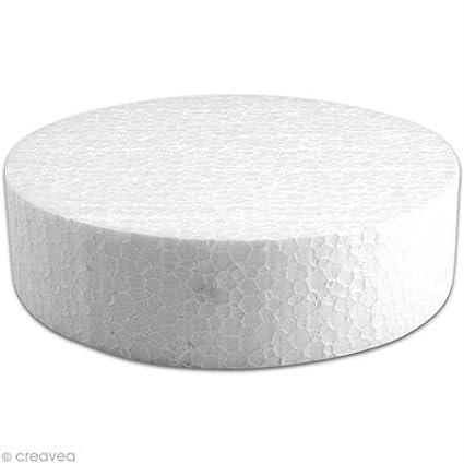 Disque en polystyrène expansé 15 cm Creavea