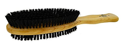 Kent - CC20 Cherry Wood Natural Bristle Clothes Brush, Double Sided