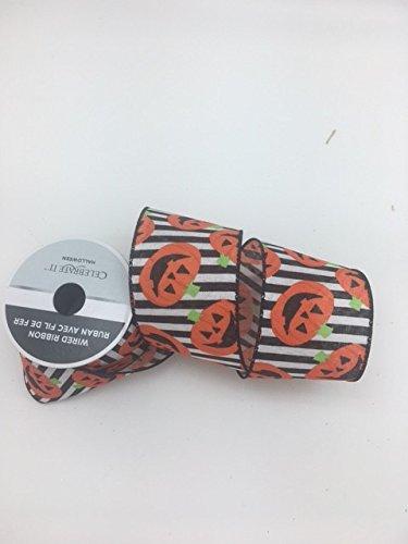 Celebrate IT- Fall & Halloween Ribbon -halloween pumpkin- 2.5 in x 12ft
