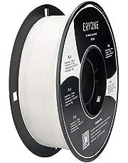 ERYONE PLA Filament for 3D Printer, 1.75mm, +/-0.03mm, 1kg (2.2LBS)/Spool, White