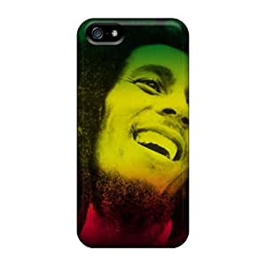 Iphone Cover Case - Bob Marley Protective Case Compatibel With Iphone 5/5s