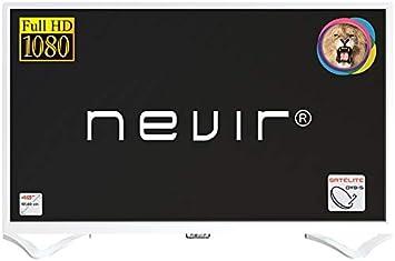 Nevir TV Led 40 Pulgadas NVR-7706-40FHD2S-B, Full HD, Blanco: Amazon.es: Electrónica