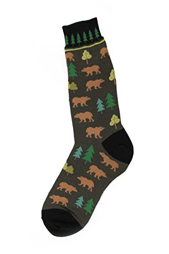 Foot Traffic - Outdoors Men's Socks, Bears made our list of Unique Camping Gifts For Men