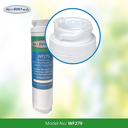 Aquafresh WF279 Replacement for Bosch 644845 Ultra Clarity, Haier 0060820860, Miele KWF1000 Refrigerator Water Filter (6 Pack) by Aqua Fresh (Image #2)