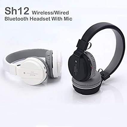 565fab1abbc AMBLink Wireless Bluetooth Headphone with FM and SD: Amazon.in: Electronics