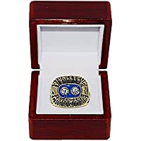 $99 » NEW YORK ISLANDERS (Bryan Trottier) 1981 STANLEY CUP FINAL WORLD CHAMPIONS Vintage Rare & Collectible Replica Hockey Gold NHL…